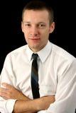 Homme attirant d'affaires de 26 ans Photo libre de droits