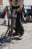Homme au travail Image libre de droits