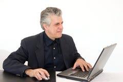 Homme au travail Images libres de droits