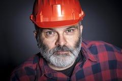 Homme au travail Photographie stock
