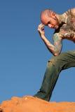Homme avec des tatouages photos stock