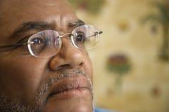 Homme avec l'expression pensive Photo libre de droits