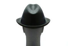 Homme avec le chapeau en fonction images libres de droits