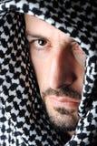 Homme avec le Palestinien arabe Photos stock