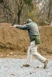 Homme avec le pistolet Photos libres de droits