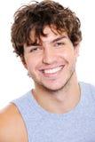 Homme avec le sourire heureux Image libre de droits