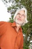 Homme avec une barbe blanche Photos libres de droits