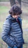 Homme bel dans une veste Photos libres de droits