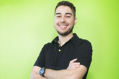 Homme bel de sourire de jeune Caucasien photo stock