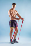 Homme bel musculaire Photos stock