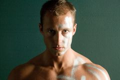 Homme bel sexy   Image libre de droits