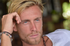 Homme blond Images stock