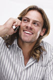 homme blond photographie stock