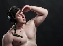 Homme brutal fort Photo libre de droits