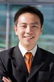 Homme chinois asiatique d'affaires Photographie stock