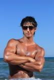 Homme convenable de Caucasien sexy photo stock