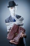 Homme couvert dans des bandages médicaux Photographie stock libre de droits