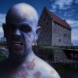 Homme crépusculaire de vampire image stock