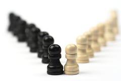 Homme d'échecs Photographie stock