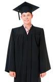Homme d'étudiant de graduation Photo libre de droits