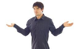 Homme d'affaires - équilibre Photo stock