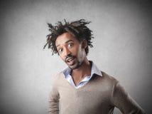 Homme d'affaires étonné Photographie stock libre de droits