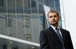 Homme d'affaires. Photo stock