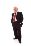 Homme d'affaires aîné Image libre de droits
