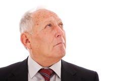 Homme d'affaires aîné Image stock