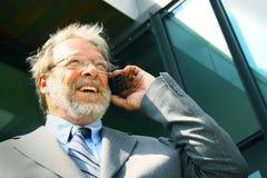Homme d'affaires aîné Photo libre de droits
