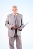 Homme d'affaires aîné réussi Photo libre de droits