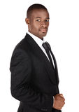 Homme d'affaires africain bel Image libre de droits
