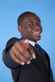 Homme d'affaires africain puissant Photos libres de droits