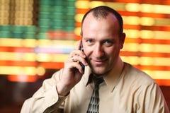 Homme d'affaires américain Photo stock