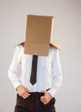 Homme d'affaires anonyme avec des mains dans la ceinture image libre de droits