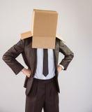 Homme d'affaires anonyme avec des mains sur des hanches photos libres de droits