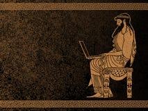 Homme d'affaires antique Photo libre de droits