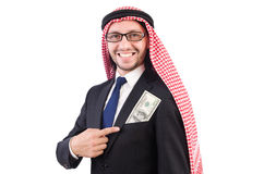 Homme d'affaires arabe Photographie stock