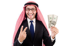 Homme d'affaires arabe photo stock
