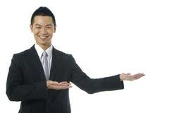Homme d'affaires asiatique photographie stock