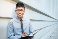 Homme d'affaires asiatique photos libres de droits