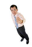 Homme d'affaires asiatique de sourire Photos libres de droits