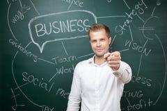 Homme d'affaires avec des aspirations photo libre de droits