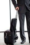 Homme d'affaires avec le bagage Photos stock