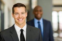 Homme d'affaires bel Photos stock