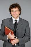 Homme d'affaires bel Photo stock