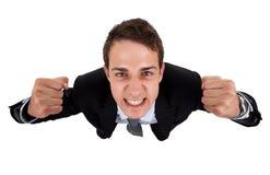 Homme d'affaires bel de sourire Images stock
