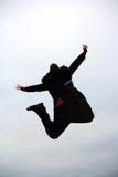 Homme d'affaires branchant Photo libre de droits