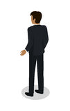 Homme d'affaires Character Isometric Icon Photographie stock