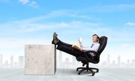 Homme d'affaires confiant Photographie stock